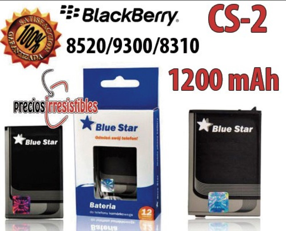 Bateria Interna Blue Star Blackberry 8520 CS-2