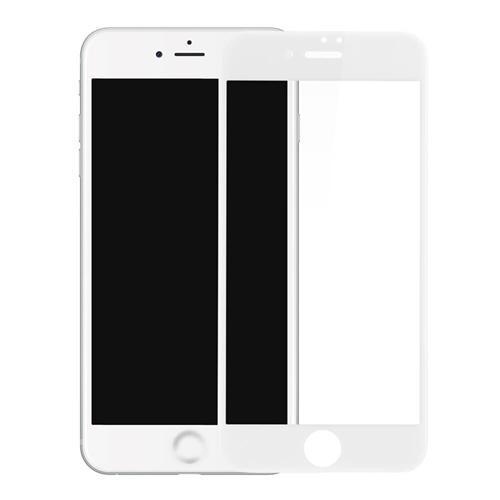 9e91a49c221 Protector Pantalla Apple iPhone 7 PLUS / 8 PLUS Completo BLANCO Cristal  Templado